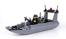 Navy Seal  RHIB Attack Boat Made With Real LEGO® Bricks
