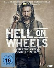 HELL ON WHEELS - DIE KOMPLETTE 2.STAFFEL - 3 DVD NEU