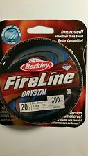 BERKLEY  FIRELINE  6lb 300 YARDS SMOKE COLOR