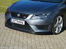 SONDERAKTION Spoilerschwert Frontspoilerlippe ABS für Seat Leon 5F ST mit ABE