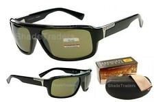 SERENGETI MATTEO SUNGLASSES POLARIZED PHOTOCHROMIC 555nm SHINY BLACK_GREEN 7369