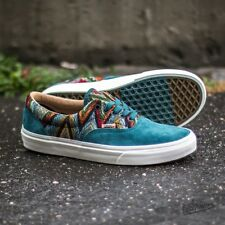 Vans Era CA (Italian Weave/Pig Suede) Atlantic Deep Teal Men's Shoes SIZE 9