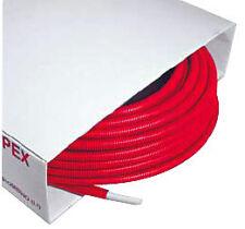 Tubipex diameter 16 x 2.0 lengte 100 meter  6 mm voorgeïsoleerd met rode mantel