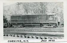 6C750 RP 1970 NEW YORK CENTRAL RAILROAD ENGINE #2883 CORNING NY