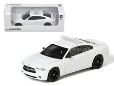2012 DODGE CHARGER POLICE INTERCEPTOR UNMARKED WHITE 1/64 CAR GREENLIGHT 50752-C