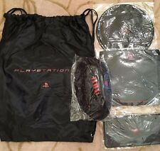 PLAYSTATION BAG W/MOUSE PAD, PENCIL CASE, FRISBEE AND FOOTBALL
