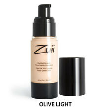 Zuii Organic Certified Organic Liquid Foundation - Olive Light Makeup NEW