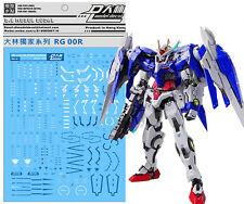 D.L high quality Decal water paste For Bandai RG 1/144 GN-0000 00R Raiser Gundam