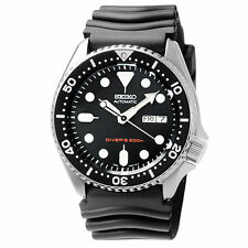 Seiko SKX007K1 Automatic Diver Black Rubber Strap Analog Men's Watch