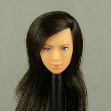1/6 Scale Lady's Mission, Cy Girl, ZC, Phicen Asian Female Black Hair Headsculpt