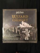 Harry Potter 32 Piece & Playing Board Wizard Chess Movie Re-creation Game Set