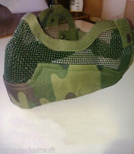 Airsoft TMC Spartan Camo Multicam Mouth Guard *UK SELLER*