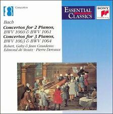 Bach: Concertos for 2 & 3 Pianos by Johann Sebastian Bach, Eugene Ormandy, Edmo
