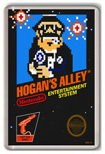 HOGAN`S ALLEY NINTENDO NES FRIDGE MAGNET IMAN NEVERA