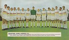 BRADFORD PARK AVENUE FOOTBALL TEAM PHOTO 1967-68 SEASON
