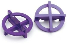 TAVY Purple Plastic Tile Spacers Leveling System Spacers Spacer Tiling Tools
