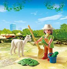 PLAYMOBIL® 4944 - Tierpflegerin mit Alpaka - im Osterei - NEU + OVP ! ! !