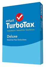 Turbotax Deluxe 2015 with Federal E-File and State Return