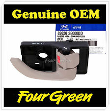 Inside Door Handle Front Right for Hyundai 2005 Tucson OEM NEW [826202E000DD]