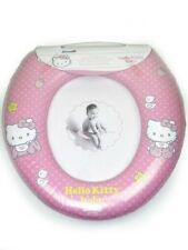 'Hello Kitty Baby' Kids Padded Toilet Seat Soft Potty Training Bath Brand New