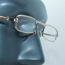 Folding Reading Glasses Petite Small Gold Frame Lightweight Lens Strength +3.25