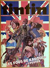 BD Comics Magazine Hebdo Journal Tintin No 28 35e Les fous de Kaboul