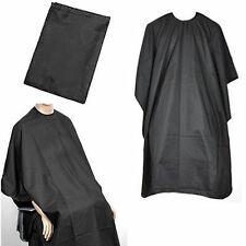Pro Black Salon Hair Cut Hairdressing Hairdresser Barbers Cape Gown Adult Cloth