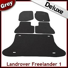 Land Rover Freelander Mk1 1997-2006 Tailored LUXURY 1300g Car & Boot Mats GREY