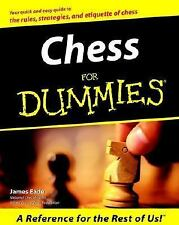 Acc, Chess for Dummies, James Eade, 0764550039, Book
