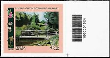 Italia 2013 - Orto Botanico di Bari - Codice a barre 1524
