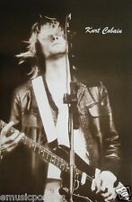 "Nirvana ""Guitar Ecstasy"" Thai Poster - Kurt Cobain Jamming On His Guitar"