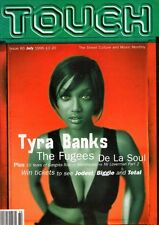 Tyra Banks on Touch Magazine Cover July 1996    The Fugees   Gangsta Rap