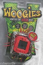 Woogies Electronic Pet Toy RED Interactive Monster 2008 Sealed rubber spikes