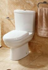600m Compact Short Projection Close Coupled Toilet Cistern Wrap Over Toilet Seat