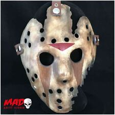 Deluxe Jason Hockey Mask Part 9 Replica Friday 13th Horror Film Collectible