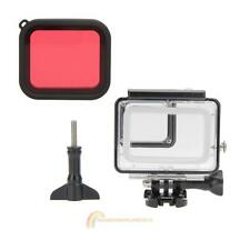 Protective Waterproof Case House+Diving Lens Filter for Gopro Hero 5 Accessoies