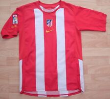 ATLETICO MADRID 2004 HOME NIKE FOOTBALL SOCCER SHIRT JERSEY 13-15 YEARS / SMALL