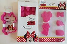 Disney Minnie Mouse Silicone Molds Chocolate Cake Muffin Baking Bakeware Set