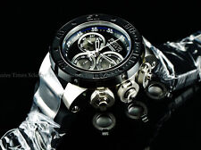 Invicta 52mm RESERVE SUBAQUA TORPEDO MISSILE DRAGON SWISS Chrono Black DL Watch