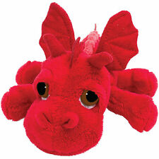 Lil Peepers Ember Red Dragon Plush Toy, 17.8cm