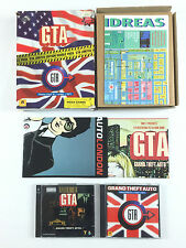 Jeu GTA + Mission Pack 1 London 1969 Limited Edition PC Big Box / Boite Carton