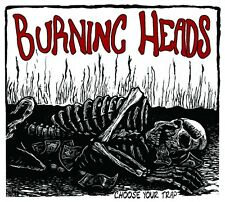 """BURNING HEADS CHOOSE YOUR TRAP EUTHANASIE RECORDS 12"""" 2 LP VINYLE NEUF NEW"""