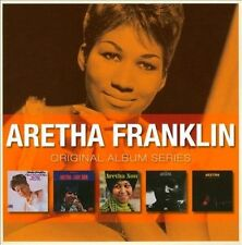 ARETHA FRANKLIN 5CD NEW I Never Loved A Man/Lady Soul/Now/Spirit/Live Fillmore