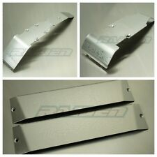 1/10 SUMMIT E-REVO Stainless Steel Armor Front Rear Skid Plate Battery Protector