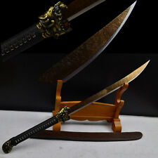 High quality of the Chinese wushu combat knife blade high carbon steel #1