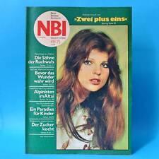 NBI 49/1975 DDR Delitzsch Brandenburg Ruchwal Weissenberg Oberrabenstein Lange