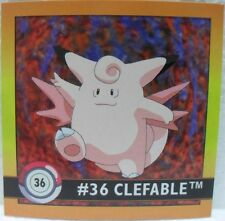 STICKERS ACTION FLIPZ ARTBOX - POKEMON CLEFABLE - 36/150 misura cm. 5,1 x 5,1