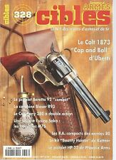 "CIBLES N°328 COLT 1873 ""CAP AND BALL"" / BERETTA 92 ""COMBAT"" / BLASER R93"