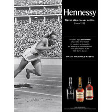 """HENNESSY """"NEVER SETTLE""""   POSTER   NEW  18 BY 27"""