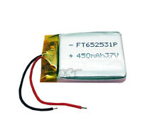 3.7V 450 mAh Li-polymer Lithium Rechargeable 652531 for bluetooth/mp3/mp4/reader